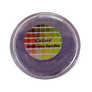 Pó para decoração, Brilho para Superfície Colorê Uva P 2g LullyCandy Rizzo Confeitaria