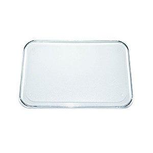 Base Retangular Transparente 10X15 Blue Star Rizzo Confeitaria