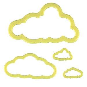 Kit Cortador de Nuvens com 4 peças Blue Star Rizzo Confeitaria
