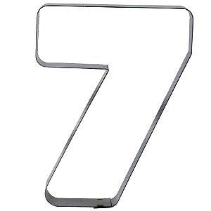 Cortador Numeral 7 G Ref. 367 RR Cortadores Rizzo Confeitaria