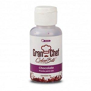 Corante Color Bits Chocolate Roxo 50g GranChef Rizzo Confeitaria
