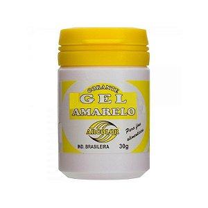 Corante Gel Amarelo 30 g Arcolor Rizzo Confeitaria
