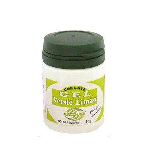Corante Gel Verde Limão 30 g Arcolor Rizzo Confeitaria