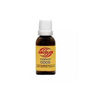 Essência Coco 30 ml Arcolor Rizzo Confeitaria