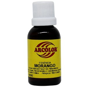 Essência Morango 30 ml Arcolor Rizzo Confeitaria
