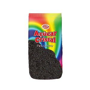 Açucar Cristal Preto 80 g Arcolor Rizzo Confeitaria