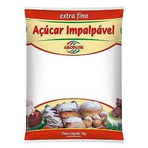 Açucar Impalpável Extra Fino 1 Kg Arcolor Rizzo Confeitaria