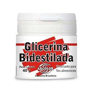Glicerina Bidestilada 40 g Arcolor