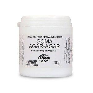 Goma Agar Agar 30 g Arcolor Rizzo Confeitaria
