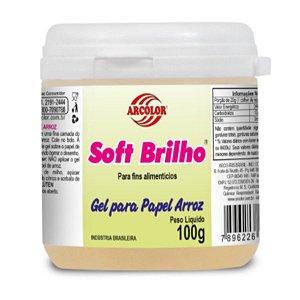 Soft Brilho 100 g Arcolor Rizzo Confeitaria