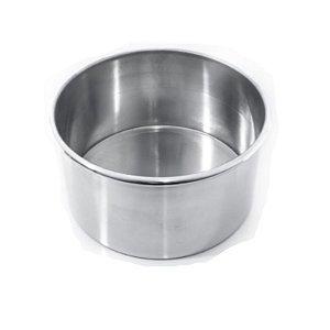 Forma Redonda Fundo Fixo - 25X10cm - Doupan - Rizzo Confeitaria