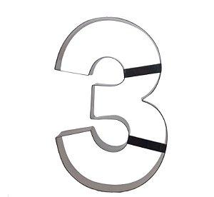 Aro Cortador Número 3 (três) Doupan Rizzo Confeitaria