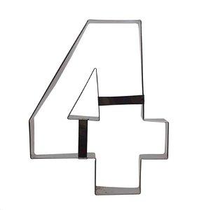 Aro Cortador Número 4 (quatro) Doupan Rizzo Confeitaria