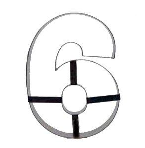 Aro Cortador Número 6 (seis) Doupan Rizzo Confeitaria