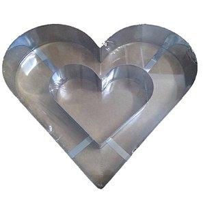 Aro Coração Duplo - Doupan - Rizzo Confeitaria