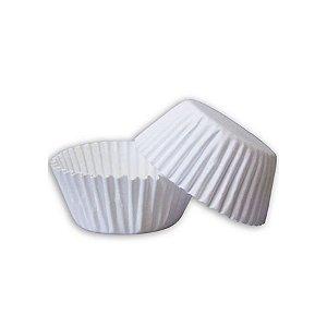 Forminha de Papel N° 01 Branca com 100 un. Cod. 3124 Mago Rizzo Confeitaria