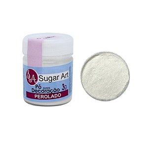 Pó para Decoração Perolado 3g Sugar Art Rizzo Confeitaria