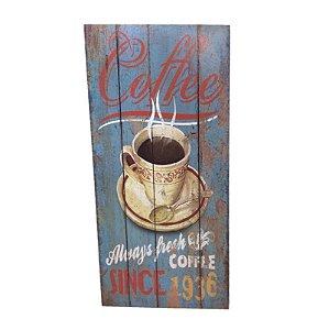 Placa Decorativa Café Mod. 5 Onyx Rizzo Confeitaria