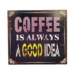 Placa Decorativa Café  Mod. 11 Onyx Rizzo Confeitaria