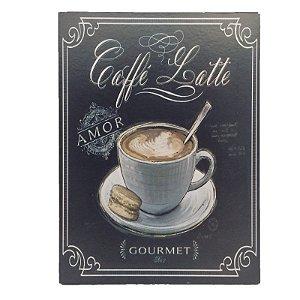 Placa Decorativa Café Mod. 18 Onyx Rizzo Confeitaria