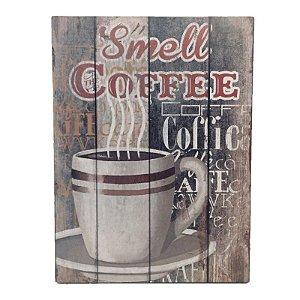 Placa Decorativa Café Mod. 26 Onyx Rizzo Confeitaria