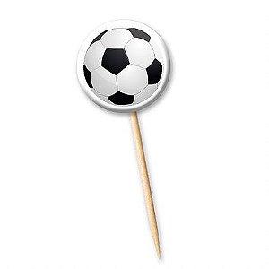 Tag Bola de Futebol com 12 un. Cód. 0795 Miss Embalagens Rizzo Confeitaria