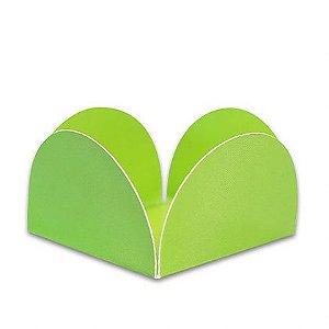 Forminha 4 Pétalas Verde com 50 un. Miss Embalagens Rizzo Confeitaria