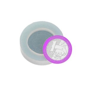 Molde de silicone Moeda Ref. 1 Flexarte Rizzo Confeitaria