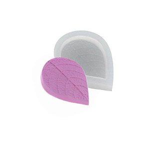 Molde de silicone Folha Média Ref. 362 Flexarte Rizzo Confeitaria