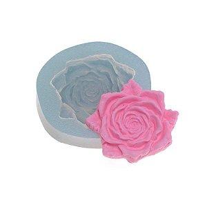 Molde de silicone Rosa Aspen Ref. 363 Flexarte Rizzo Confeitaria