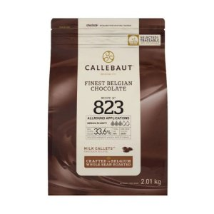 Chocolate Belga Ao Leite 823 Gotas 2 kg - Callebaut - Rizzo Confeitaria