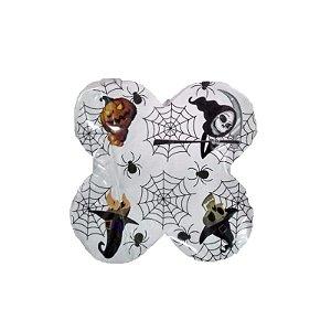 Forminha 4 Pétalas Halloween Cod. 62.3 com 50 un. Nc Toys Rizzo Confeitaria