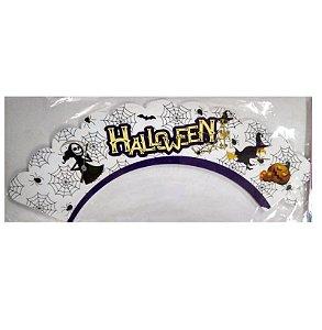 Wrapper para CupCake Halloween Cod. 62.2 com 12 un. Nc Toys Rizzo Confeitaria