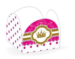Wrapper para CupCake Princesa Cod. 45.3 com 12 un. Nc Toys Rizzo Confeitaria