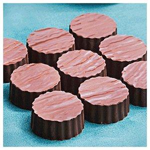 Placa de Textura para Chocolate Tronco Mod. 3 Crystal Rizzo Confeitaria