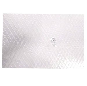Placa de Textura Losango Médio para Chocolate Mod. 13 Crystal Rizzo Confeitaria