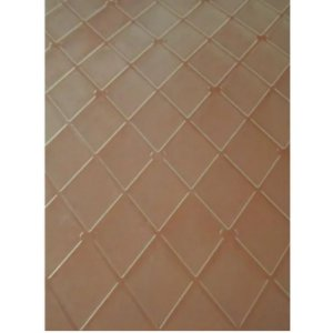 Placa de Textura Losango Grande para Chocolate Mod. 14 Crystal Rizzo Confeitaria