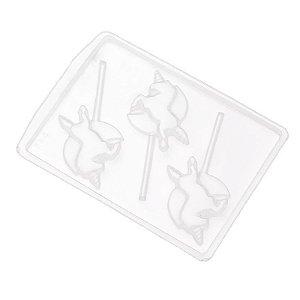 Forma de Acetato Unicórnio Mod. 384  Crystal Rizzo Confeitaria