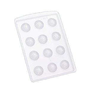 Forma de Acetato Bola Futebol Mini  Mod. 8106  Crystal Rizzo Confeitaria