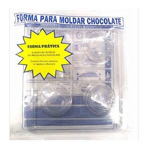 Forma Prática Concha Pequeno Mod. FP98 Crystal Rizzo Confeitaria