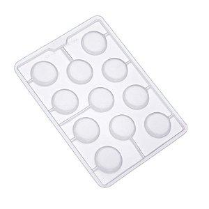 Forma de Acetato Redondo Liso Mod. SP59 Crystal Rizzo Confeitaria