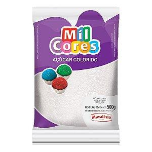 Açúcar Cristal Branco 500 g Mil Cores Mavalério Rizzo Confeitaria