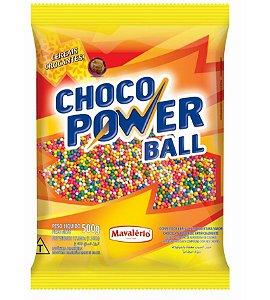 Choco Power Ball Micro Colorido 500 g Mavalério Rizzo Confeitaria