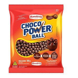 Choco Power Ball Chocolate ao Leite 500 g Mavalério Rizzo Confeitaria