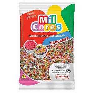 Granulado Crocante Colorido 500 g Mil Cores Mavalério Rizzo Confeitaria