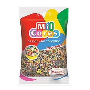 Granulado Crocante Colorido 150 g Mil Cores Mavalério Rizzo Confeitaria