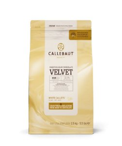 Chocolate Callebaut Branco Velvet - W3-BR-U76 Gotas 2,5 kg
