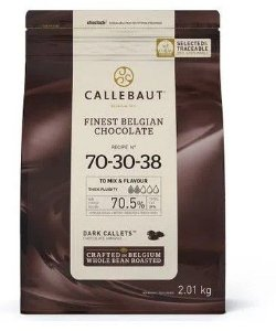 Chocolate Callebaut Amargo - 70-30-38-BR-U76 Gotas 2 kg