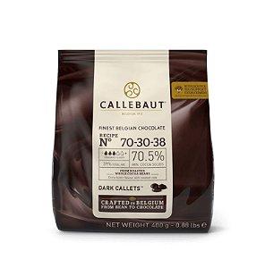 Chocolate Callebaut Amargo - 70-30-38-BR-D94 Gotas 400 g Rizzo Confeitaria
