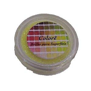 Brilho para superficie, Gliter Amarelo 1PP 1,5g LullyCandy Rizzo Confeitaria